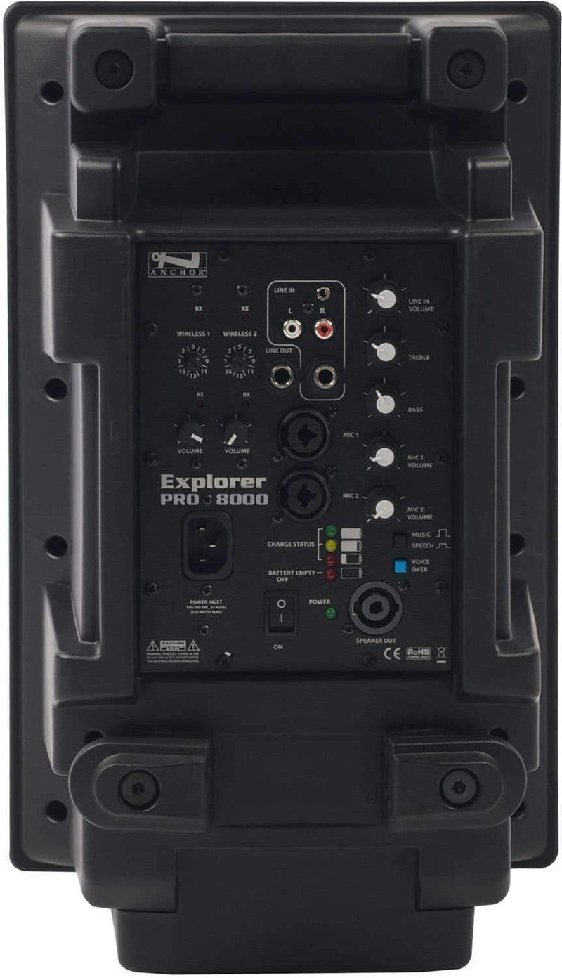 Anchor EXP-8000U2 Explorer with 2 Wireless Receivers - PSSL ProSound and Stage Lighting