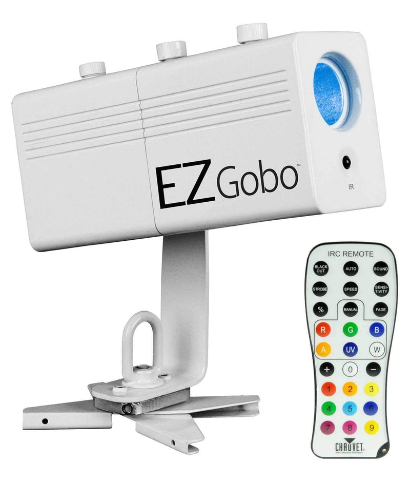 Chauvet EZGobo Battery Powered LED Gobo Projector - PSSL ProSound and Stage Lighting