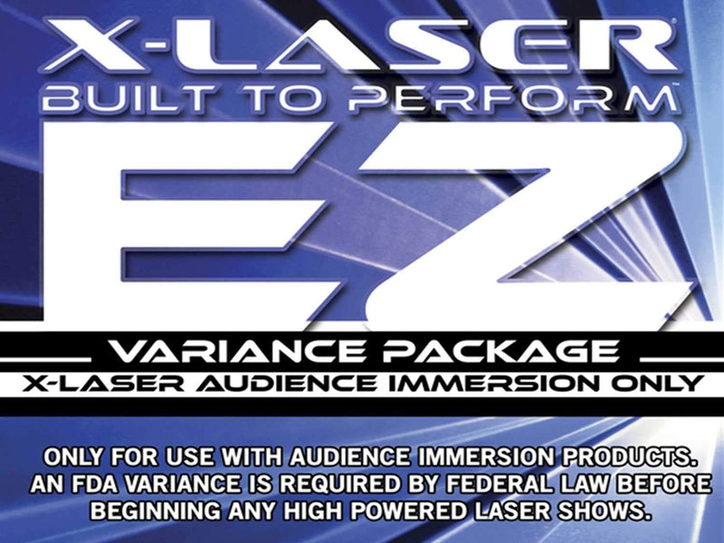 X-Laser EZ Online Laser Variance Application Kit - ProSound and Stage Lighting
