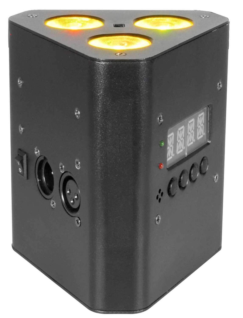 Chauvet EZWedge Tri RGB Battery-Powered LED Wash Light - PSSL ProSound and Stage Lighting
