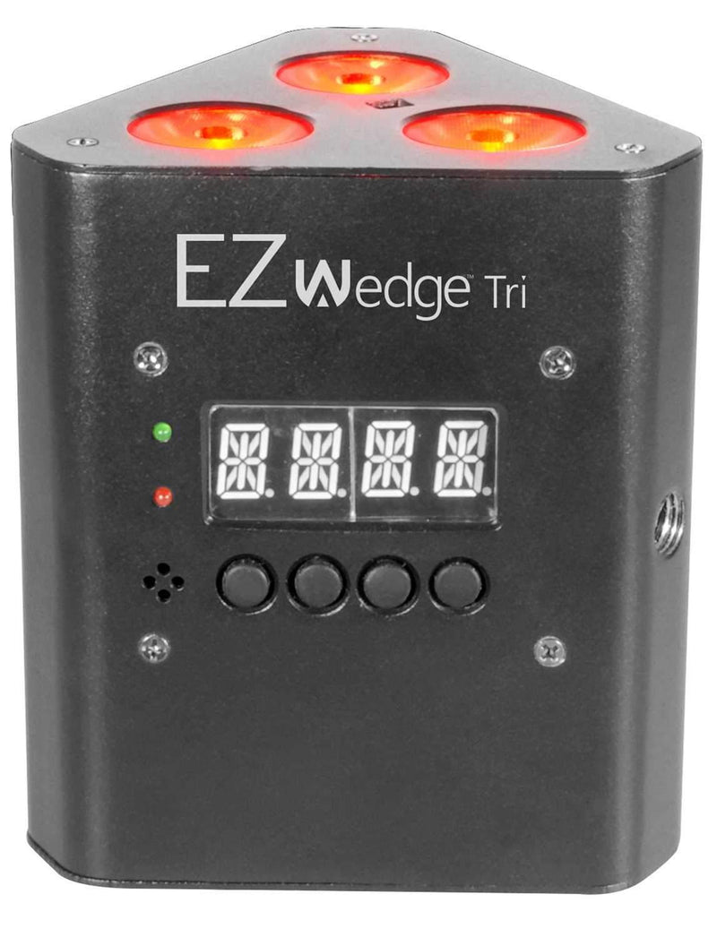 Chauvet EZWedge Tri RGB Battery-Powered LED Wash Light - ProSound and Stage Lighting