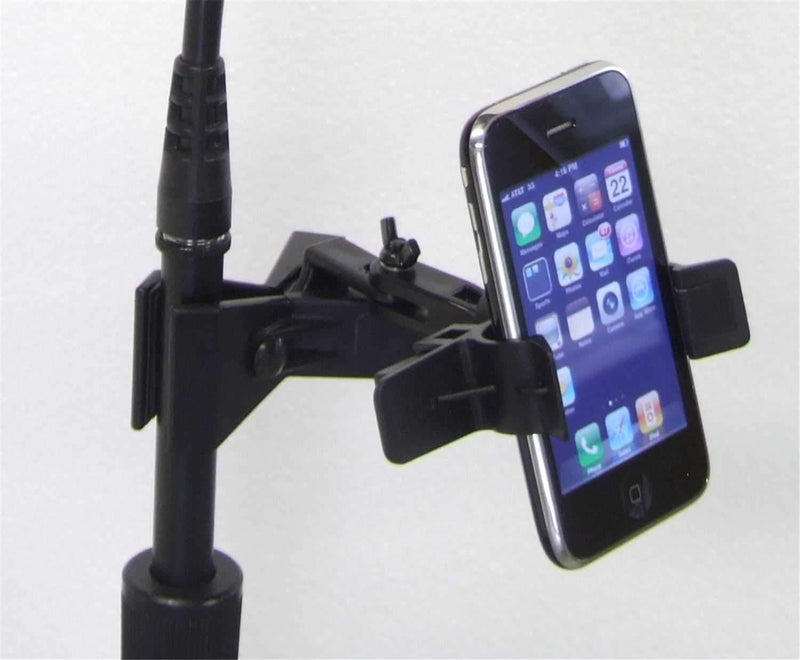 AC-CETERA EZ01 iPhone Smart Device Mic Stand Clamp - PSSL ProSound and Stage Lighting