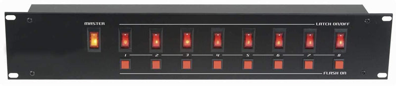 Eliminator EZ8 On/Off Power Control Center - ProSound and Stage Lighting