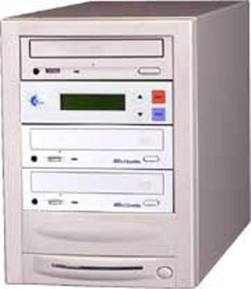 EZ-Dupe EZD2TDVD 1 x 2 DVD Duplicator - Beige - PSSL ProSound and Stage Lighting