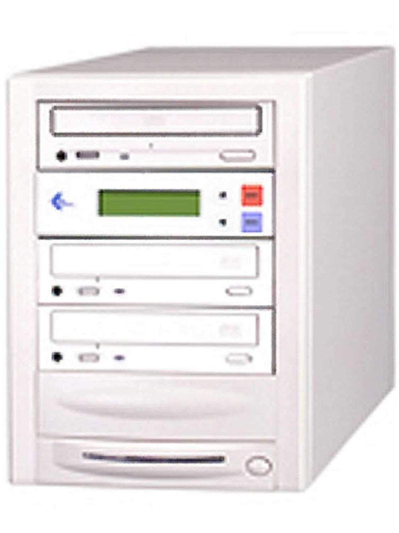 EZ-Dupe EZD2TCDSYS 1x2 CD Duplicator 80GB HD-Begie - PSSL ProSound and Stage Lighting