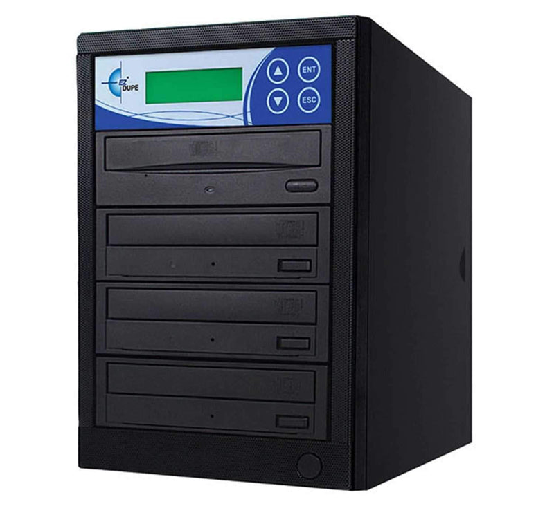 EZ-Dupe EZD3TCD 1 x 3 CD Duplicator - Black - PSSL ProSound and Stage Lighting