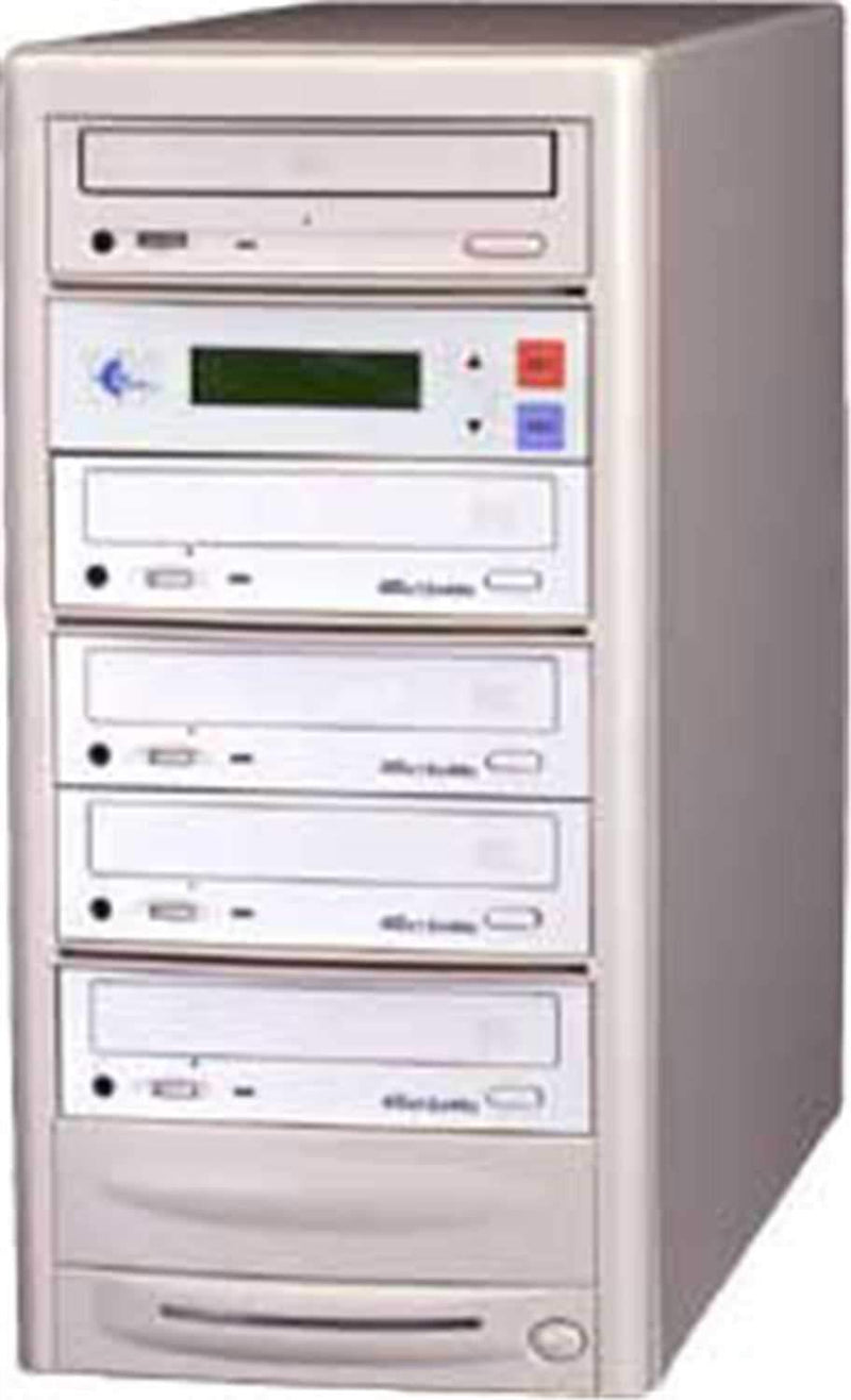 EZ-Dupe EZD4TCD 1 x 4 CD Duplicator - Beige - PSSL ProSound and Stage Lighting