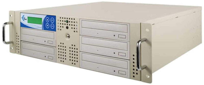 EZ-Dupe EZD5TCDRK 1 x 5 Rack Mount CD Dup - Beige - PSSL ProSound and Stage Lighting