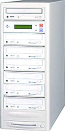 EZ-Dupe EZD6TCD 1 x6 CD Duplicator - Beige - PSSL ProSound and Stage Lighting