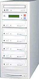 EZ-Dupe EZD6TDVD 1 x 6 DVD Duplicator - Beige - ProSound and Stage Lighting