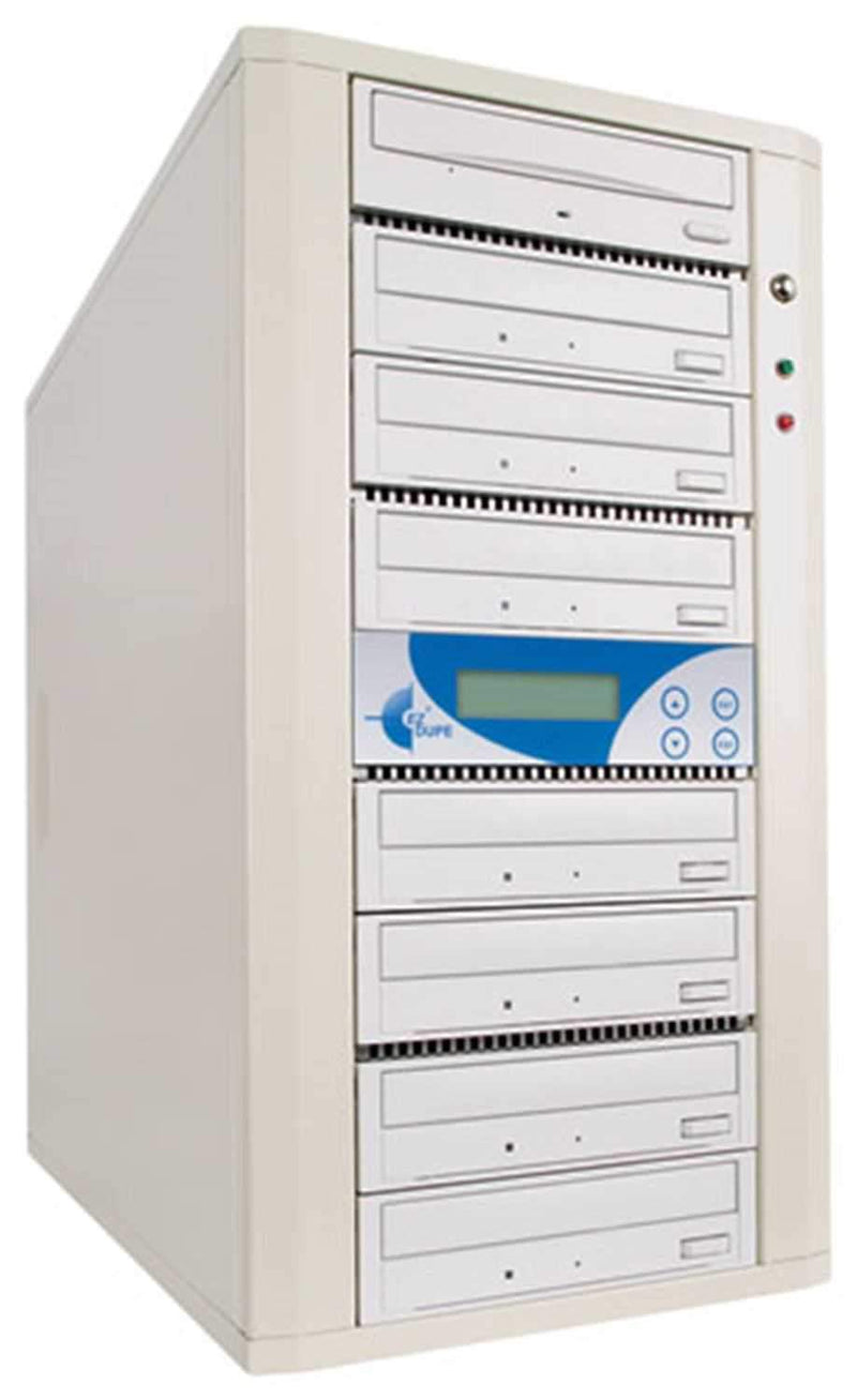 EZ-Dupe EZD7TCDSYS 1x7 CD Duplicator 80GB -Beige - PSSL ProSound and Stage Lighting