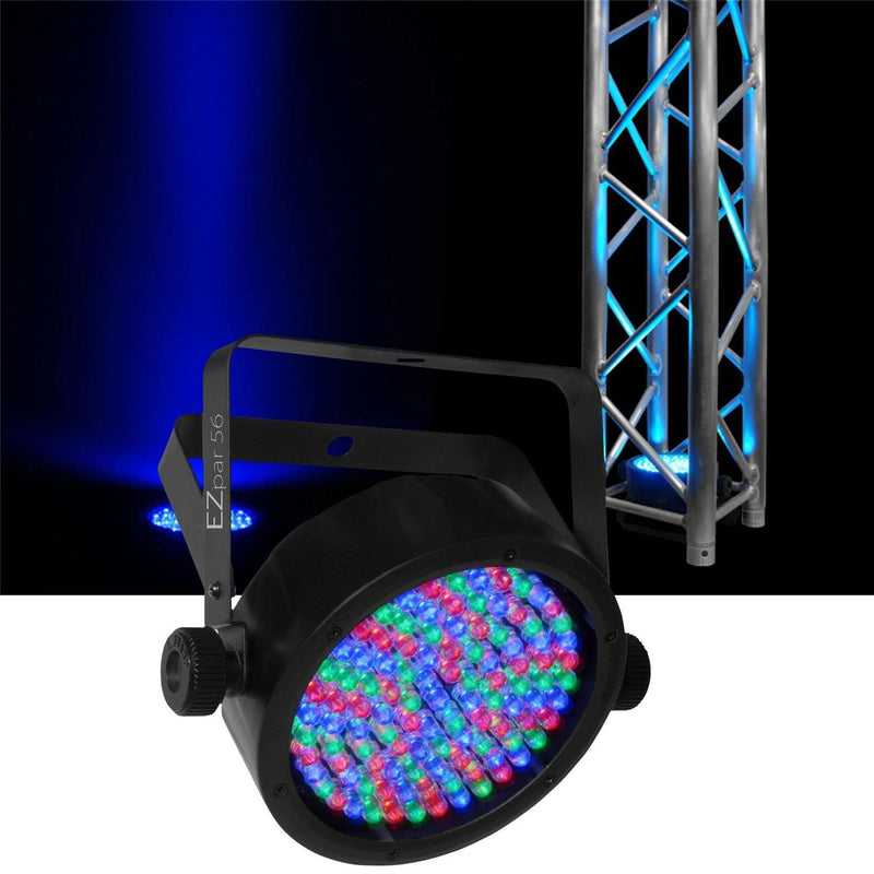 Chauvet DJ EZpar 56 DMX Battery-Powered RGB LED Wash Light - PSSL ProSound and Stage Lighting