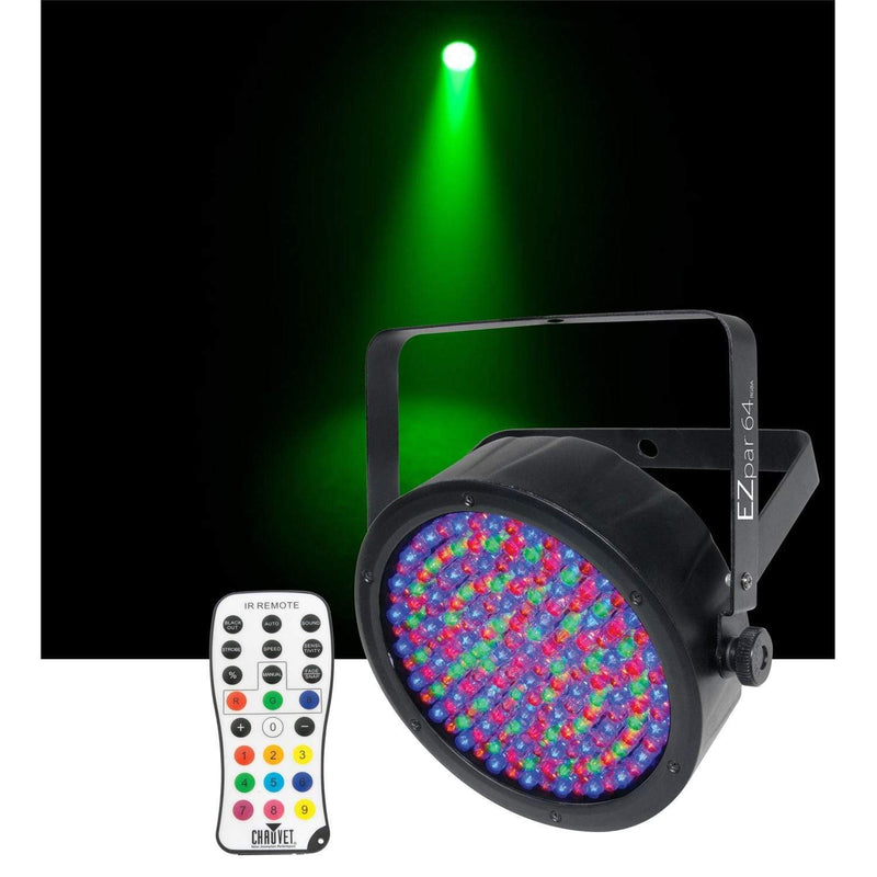 Chauvet DJ EZpar 64 RGBA Battery-Powered LED Wash Light - PSSL ProSound and Stage Lighting