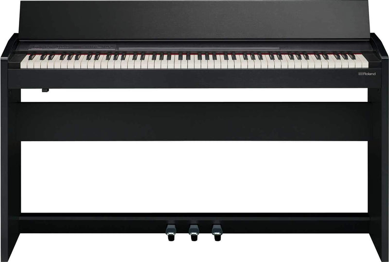 Roland F-140R-CB Contemporary Black Digital Piano - PSSL ProSound and Stage Lighting