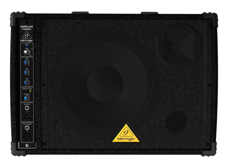 Behringer F1320D 12-In Powered Monitor Speaker - PSSL ProSound and Stage Lighting