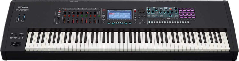 Roland Fantom 8 88-Key Workstation Keyboard Synthesizer - PSSL ProSound and Stage Lighting