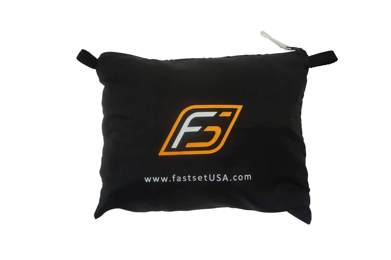 Fastset Black Scrim with Zippers for Accessories - PSSL ProSound and Stage Lighting