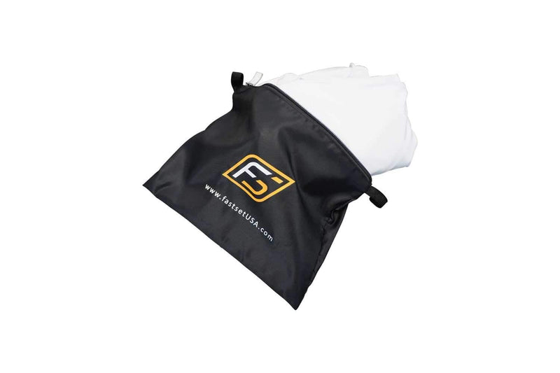 Fastset White Scrim with Zippers for Accessories - PSSL ProSound and Stage Lighting