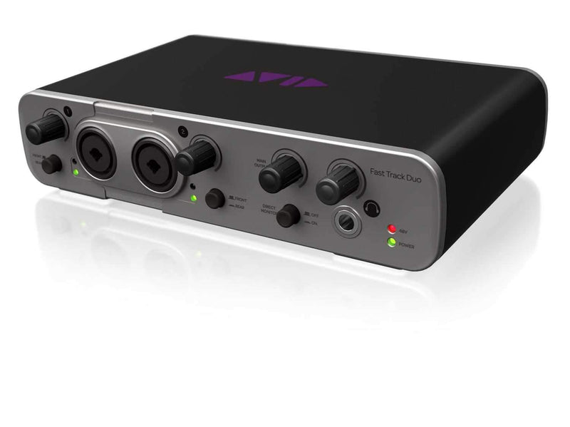 Avid Fast Track Duo USB Audio Interface w PT EX - PSSL ProSound and Stage Lighting