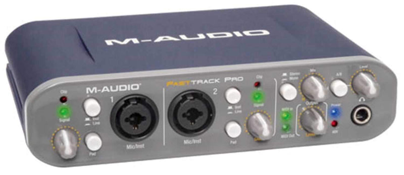 M-Audio FAST-TRACK-PRO 4X4 Mobile USB Interface - ProSound and Stage Lighting