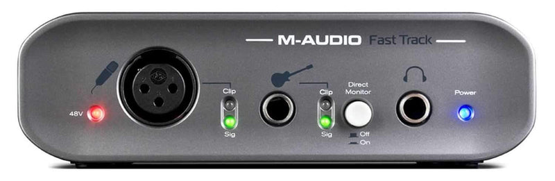 Avid FAST-TRACK-USB-II Audio Interface - PSSL ProSound and Stage Lighting