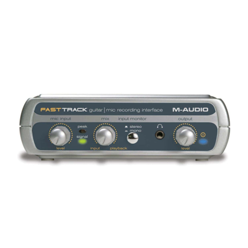 M-Audio FAST-TRACK-USB USB Guitar Interface - PSSL ProSound and Stage Lighting