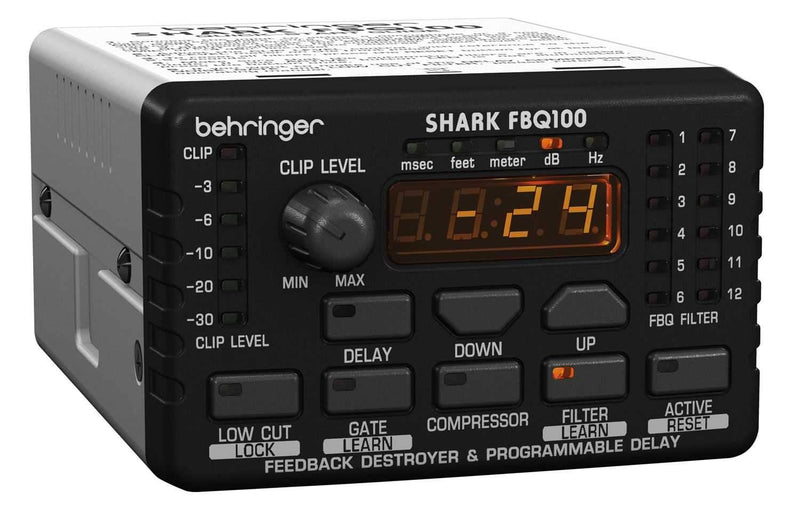 Behringer FBQ100 Automatic Feedback Destroyer - PSSL ProSound and Stage Lighting