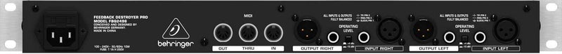 Behringer Ultragraph Pro FBQ3102 31-Band Stereo EQ - PSSL ProSound and Stage Lighting