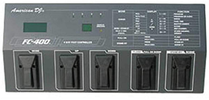 American DJ FC-400 4 Channel Foot Controller - PSSL ProSound and Stage Lighting