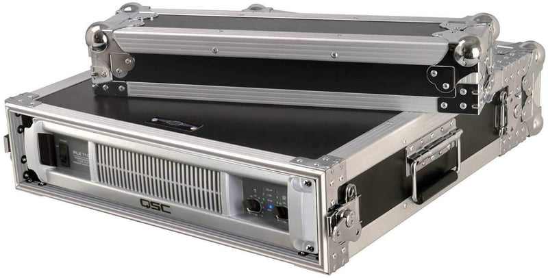 On Stage FC7002FR 2 Space Flight Rack Case - PSSL ProSound and Stage Lighting