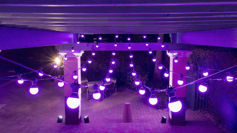 Chauvet Festoon RGB Outdoor Party Light LED String - PSSL ProSound and Stage Lighting