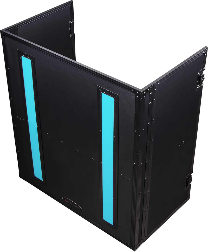 Odyssey FFX2F3336BL 33x36 Flight FX Fold-Out DJ Stand Facade - PSSL ProSound and Stage Lighting