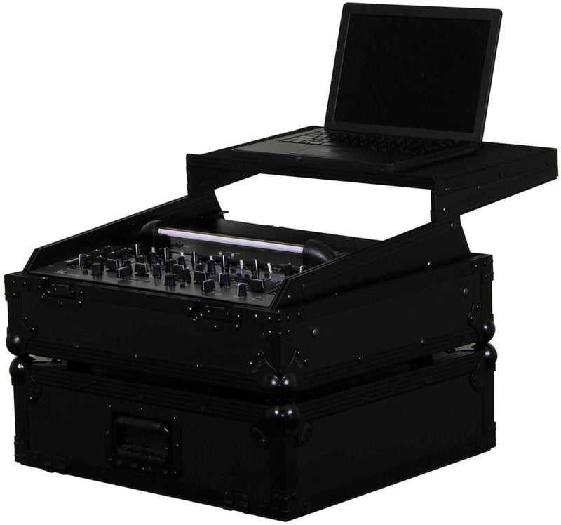 Odyssey FFXGS10BL FX 19-Inch Rackmount Mixer Glide Case with LED Panel - PSSL ProSound and Stage Lighting