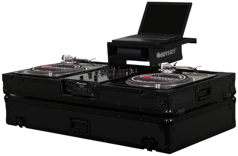 Odyssey FFXGSBM10WBL Fx Led Glide Turntable Coff - PSSL ProSound and Stage Lighting
