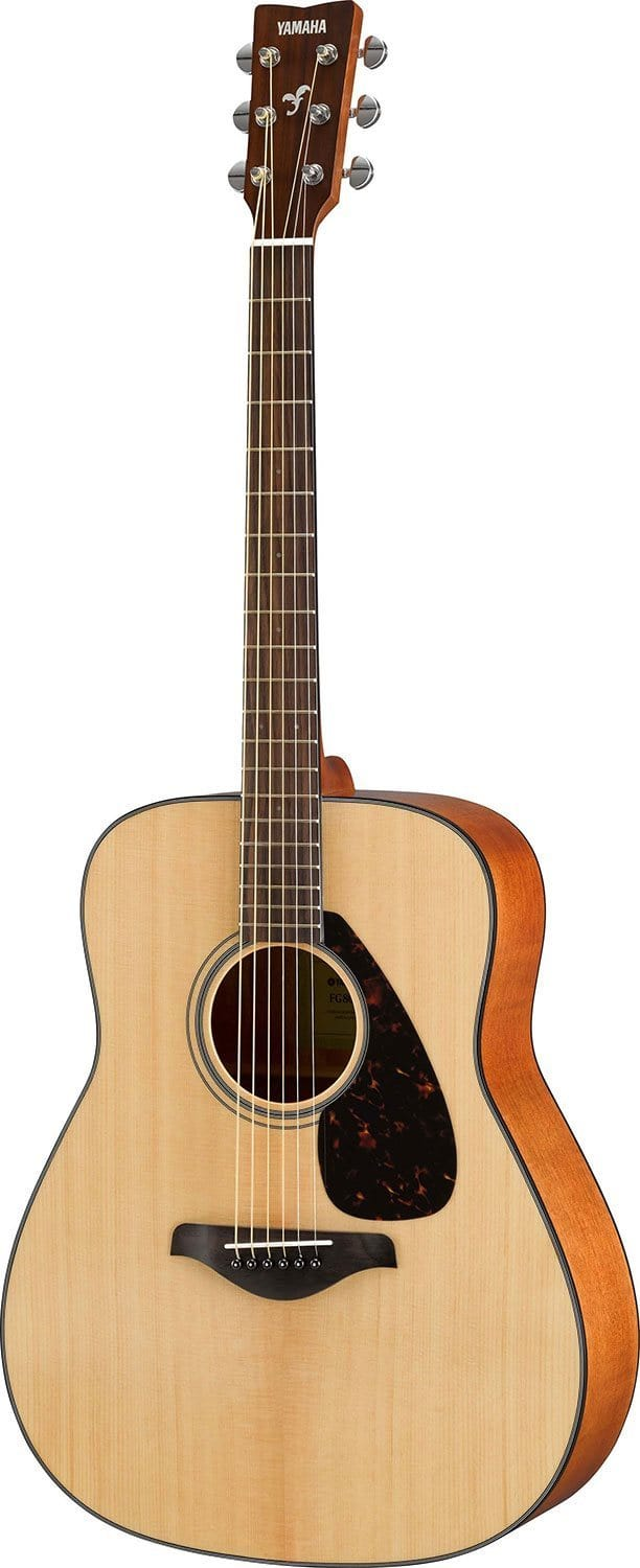 Yamaha FG800 Natural Folk Guitar Solid Top - PSSL ProSound and Stage Lighting