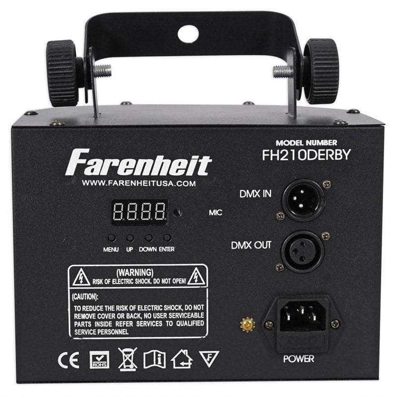 Farenheit FH210DERBY 2x10W RGBW Derby Effect Light - PSSL ProSound and Stage Lighting