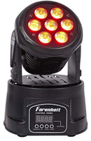Farenheit FH710MH 7x10W RGBW Moving Head Fixture - ProSound and Stage Lighting
