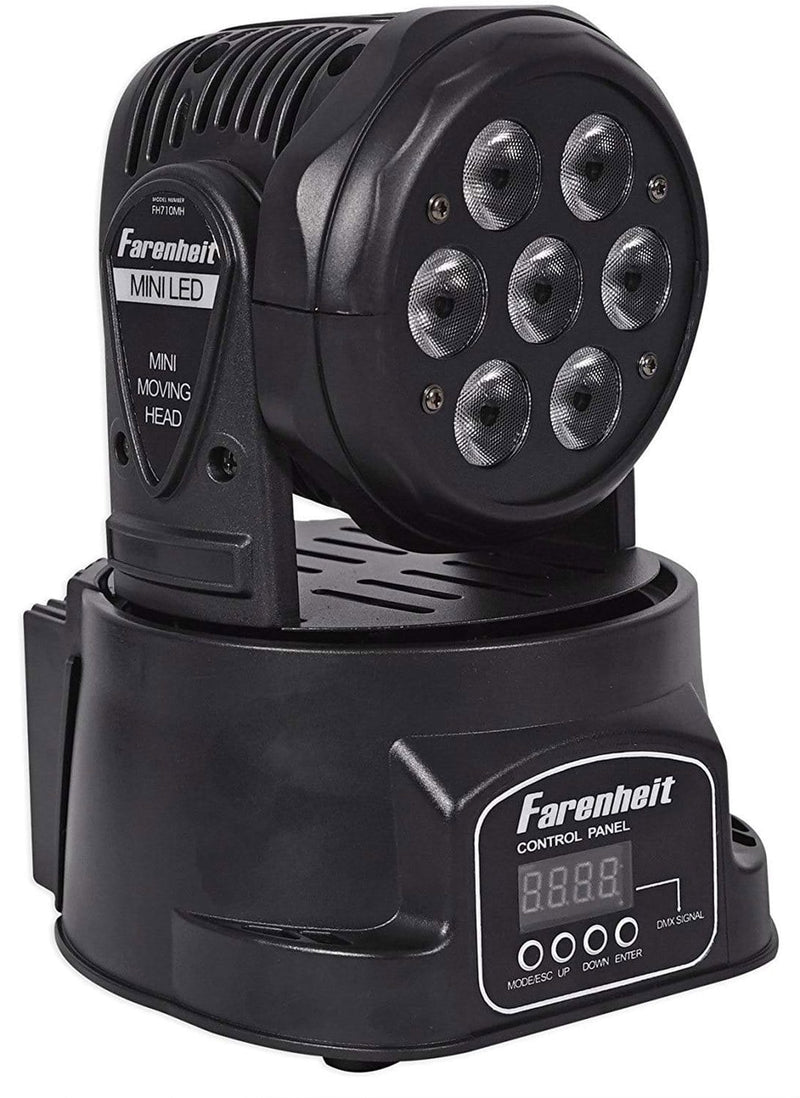 Farenheit FH710MH 7x10W RGBW Moving Head Fixture - PSSL ProSound and Stage Lighting