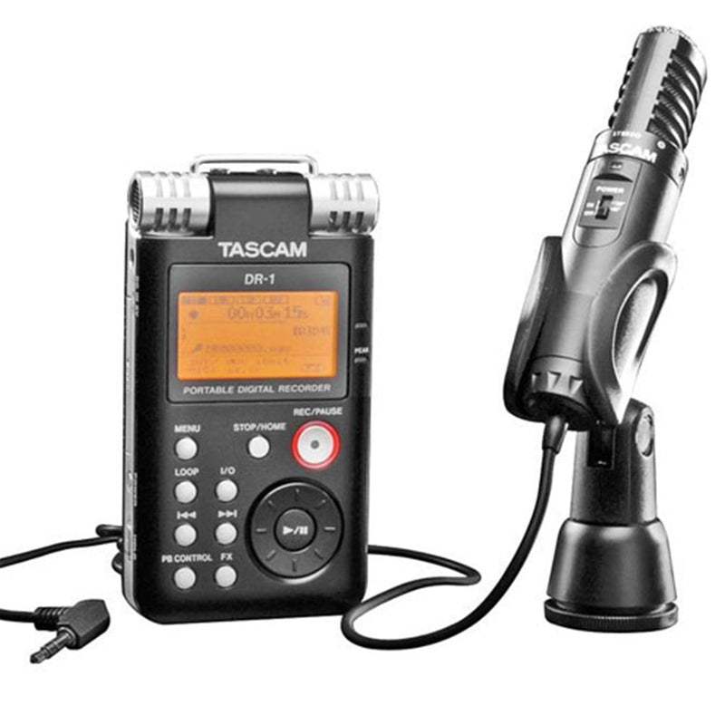 Tascam FIELD-PACK DR-1 and TM-ST1 - PSSL ProSound and Stage Lighting