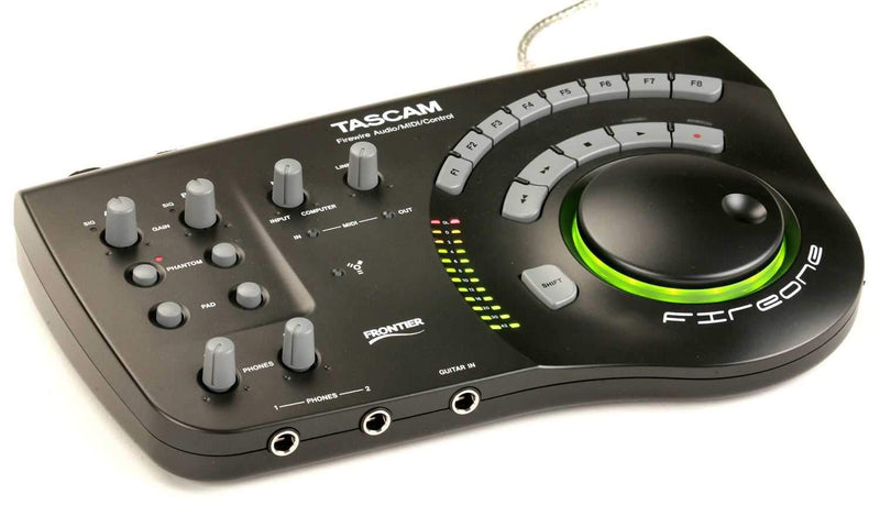 Tascam FIRE-ONE Firewire Audio/Midi Interface - ProSound and Stage Lighting