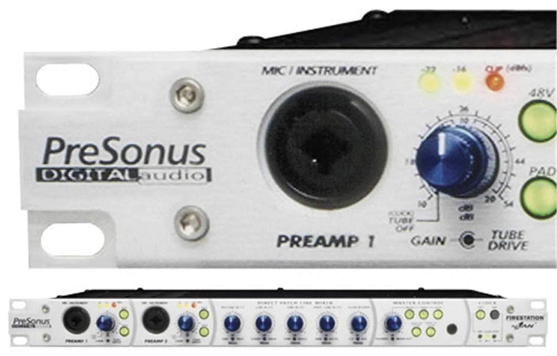 Presonus FIRESTATION Firewire Record Interface - PSSL ProSound and Stage Lighting