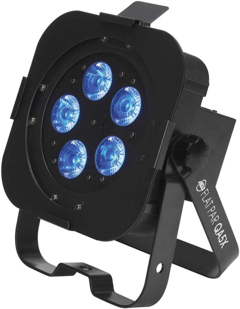 American DJ Flat Par QA5X RGBA DMX LED Wash Light - PSSL ProSound and Stage Lighting