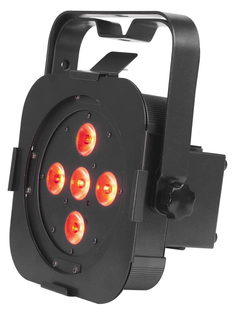 American DJ Flat Par QA5 RGB Flat LED Par - PSSL ProSound and Stage Lighting