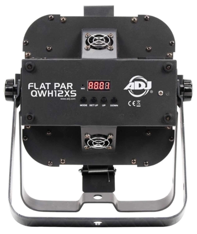 ADJ American DJ Flat Par QWH12X RGBW LED Light with Snoot - PSSL ProSound and Stage Lighting