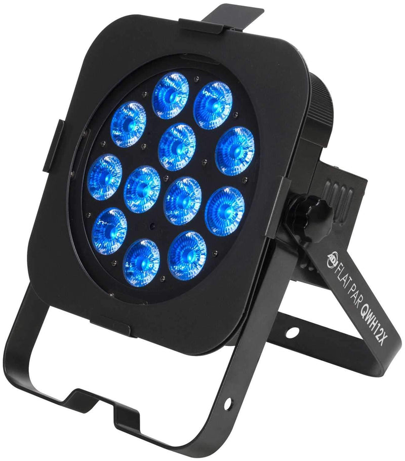 American DJ Flat Par QWH12X RGBW LED Wash Light - PSSL ProSound and Stage Lighting