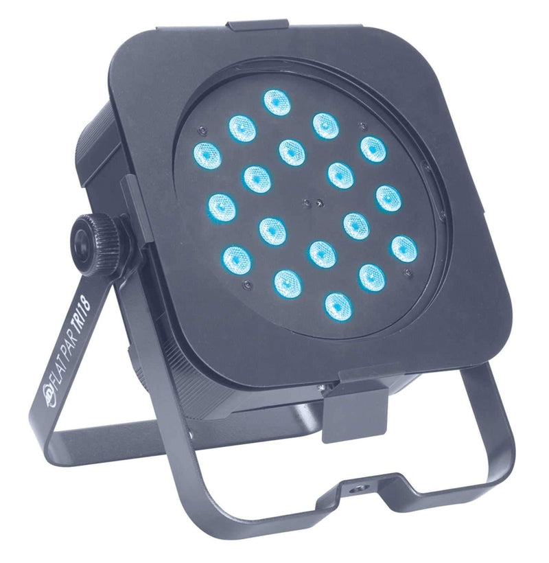 American FLATT-PAR-TRI18 Low Profile DMX LED Par - PSSL ProSound and Stage Lighting