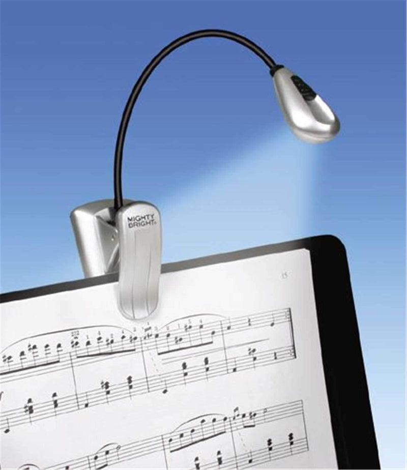 Mighty Bright XtraFlex Super LED Clip Light Silver - PSSL ProSound and Stage Lighting