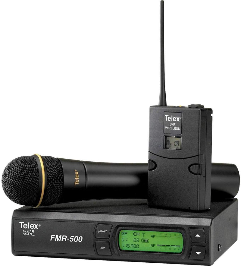 Telex FMR500HDA Wireless Handheld Mic System - PSSL ProSound and Stage Lighting