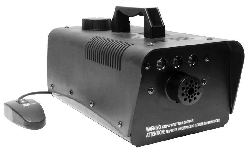 Irradiant Fog Machine and 3 X 1W LED Effect Combo - PSSL ProSound and Stage Lighting