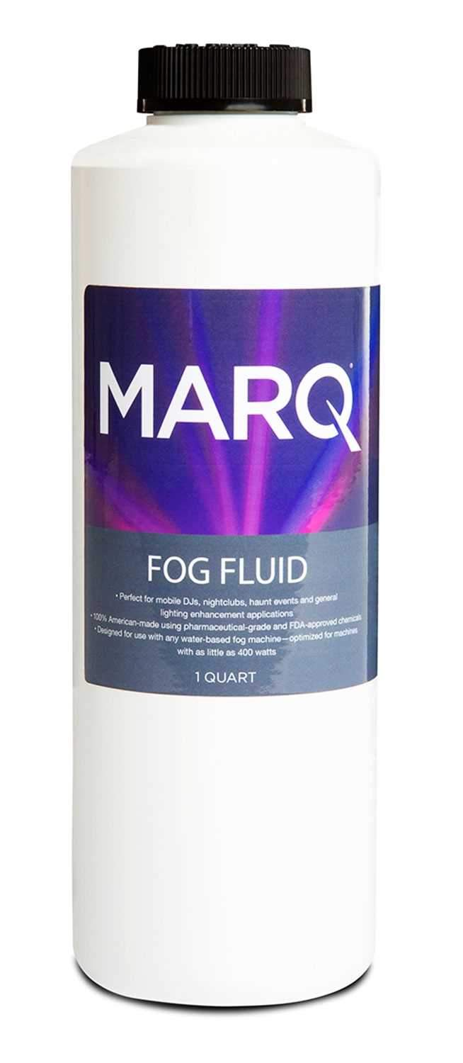 MARQ Medium Density Water-Based Fog Fluid Quart - PSSL ProSound and Stage Lighting